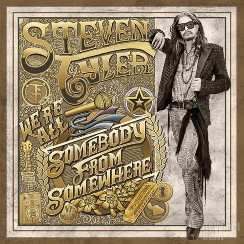 Steven Tyler drog till Nashville …