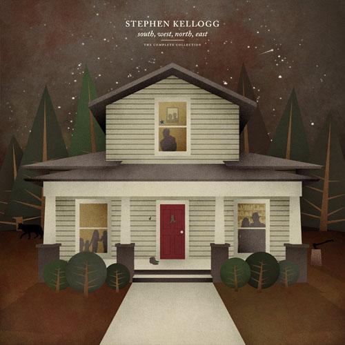 Stephen Kellogg drog landet runt …