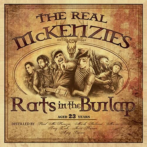 Real McKenzies ger oss säckpiperöj på burk …