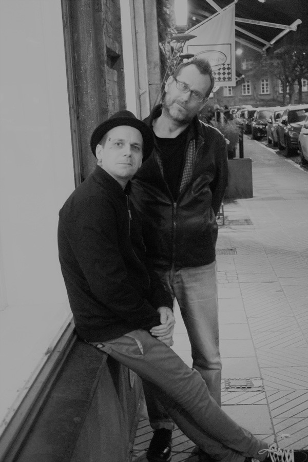Adam Nilsson och Stry Terrarie.